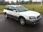 2001 Subaru Outback MY01 Limited White 4 Speed Automatic Wagon West Gosford Gosford Area Preview