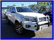 2016 Toyota Hilux GUN126R SR5 (4x4) White 6 Speed Automatic Dual Cab Utility Penrith Penrith Area Preview