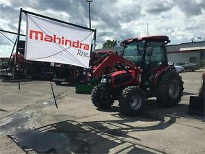 Tracteur Mahindra 3540 hst Cabine Loader