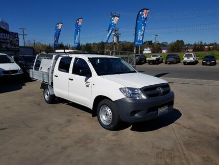 2010 Toyota Hilux TGN16R MY11 Upgrade Workmate 5 Speed Manual Dual Cab Pick-up Lilydale Yarra Ranges Preview