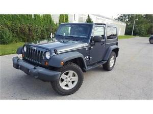 2008 JEEP X WRANGLER 4X4  AUTOMATIC HARD & SOFT TOP CERTIFIED