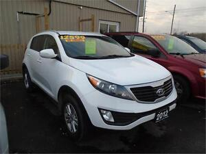 "2012 Kia Sportage LX ""LOW PAYMENT"" BE APPROVED TODAY! APPLY NOW."