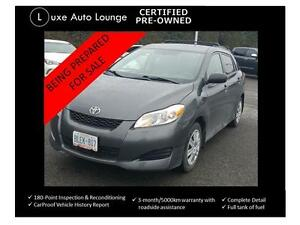 2011 Toyota Matrix - 78K!! AUTO-A/C-BLUETOOTH-POWER GROUP-CRUISE
