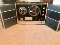Sony TC540 Reel to Reel Tape Player/Recorder with Speakers