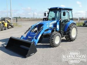 2017 NH Boomer 50 Tractor with Cab - A/C, Heater, 6 Yr Warranty