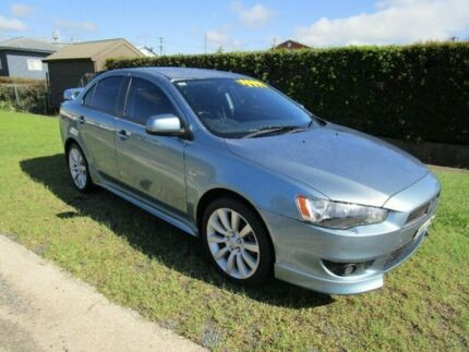 2008 Mitsubishi Lancer CJ MY08 VR-X Blue 6 Speed Constant Variable Sedan Macksville Nambucca Area Preview