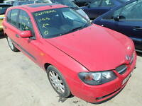 Nissan Almera 1.8 O/S Front Wing In Red Breaking For Parts (2003)