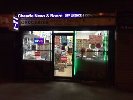 Cheadle News & Booze Off Licence and News Agent