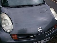 Nissan Micra O/S Headlight Breaking For Parts (2004)