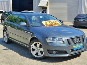 2009 Audi A3 8P MY09 TFSI Sportback S Tronic Ambition Grey 7 Speed Sports Automatic Dual Clutch Mayfield East Newcastle Area Preview