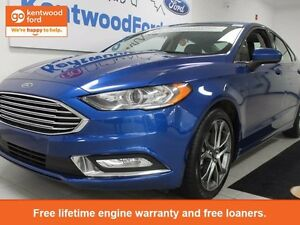 2017 Ford Fusion SE-certified pre-owned with sunroof...