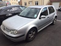 Silver 5 door VW Golf for sale - Mechanically sound but cosmetic damage