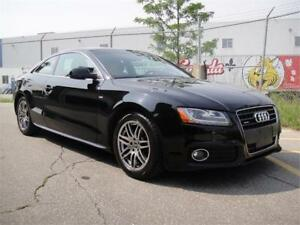 2010 AUDI A5 6 SPEED COUPE-LOADED,S-LINE,ZERO ACCIDENTS,LOW KMS