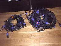 Job Lot of Speakon Cables