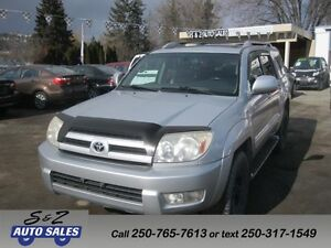 2003 Toyota 4Runner Limited 4x4 local one owner