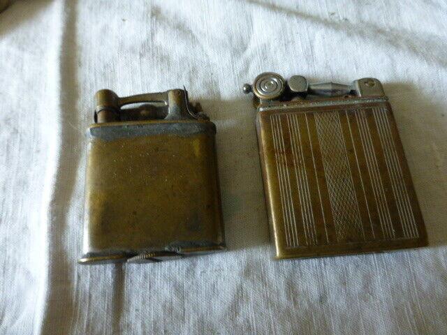 4 briquets essence anciens