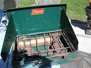 x   Coleman stove or best offer