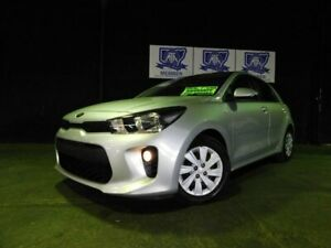 2018 Kia Rio YB MY18 S Silky Silver 4 Speed Sports Automatic Hatchback Albion Park Rail Shellharbour Area Preview