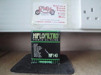 <em>YAMAHA</em> TW125 YEARS 1999  2004   HIFLOFILTRO OIL FILTER HF143