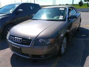 2003 AUDI A4 3.0L *LEATHER,CONVERTIBLE,TOP WORKS,AUTOMATIC!!!*