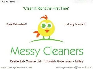 Messy Cleaners St. John's Newfoundland image 1