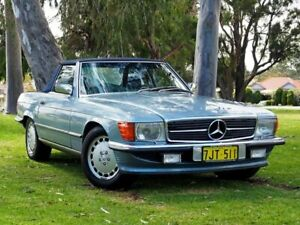 1987 Mercedes-Benz 560SL R107 Blue 4 Speed Automatic Convertible Myaree Melville Area Preview