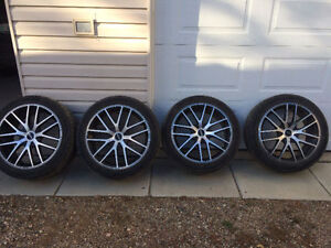 """FOR SALE: 20"""" Touren Wheels Wrapped in All-Season Tires"""