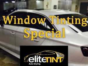 Full Car Window Tint SPECIAL DEAL + LIFETIME WARRANTY TORONTO