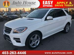 2015 MERCEDES ML350 BLUETEC DIESEL NAVI BACKUPCAM AMG PKG