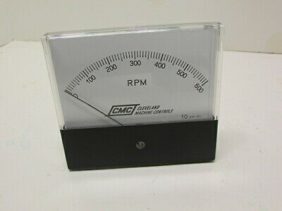 Cmc 600 Rpm Analog Panel Meter M0-00083-a New