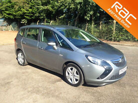 2012 12.VAUXHALL ZAFIRA 1.8 TOURER.EXCLUSIVE.SEVEN SEATS.