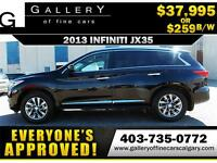 2013 Infiniti JX35 AWD $259 Bi-Weekly APPLY NOW DRIVE NOW