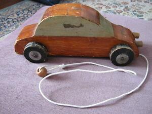 Art populaire, vieux jouet en bois