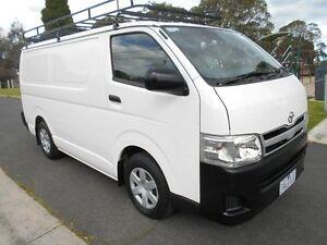 2013 Toyota Hiace White Automatic Van Preston Darebin Area Preview