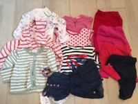Small Bundle toddler girl clothes 12-24 months