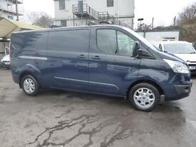 2014 FORD TRANSIT CUSTOM 290/155 LIMITED LWB L2H1 WITH AIRCON,CRUISE,ALLOY'S,SEN