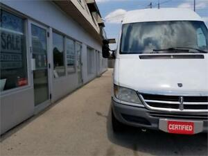 2006 Dodge Sprinter Extended High Roof Accident Free, CERTIFIED