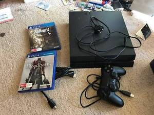 Selling PS4 500GB for 300$ including two games. Sunnybank Brisbane South West Preview