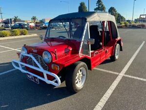 1980 Leyland Moke Red 4 Speed Manual Convertible Carrum Downs Frankston Area Preview