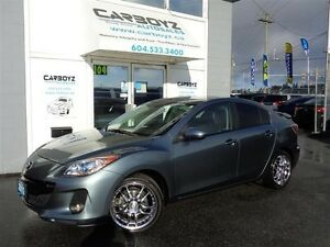 2012 Mazda MAZDA3 GS Sky-Active, Leather, Sunroof, Heated Seats