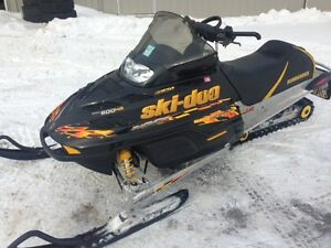 2003 Skidoo Renegade 600HO - COMPLETE PART OUT