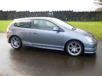 2004 HONDA CIVIC SPORT 1.6 ONLY 82000 MILES VERY TIDY CAR