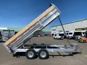 "NEW 2019 THOR 80"" x 16' HD ALUMINUM DUMP TRAILER"