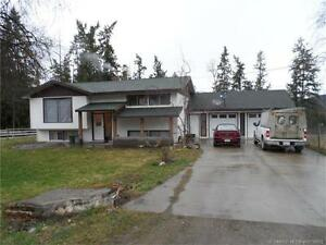 Family Home on 159 Acres Lumby