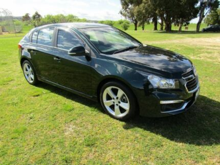 2014 Holden Cruze JH Series II MY14 SRi-V Green 6 Speed Manual Hatchback Invermay Launceston Area Preview