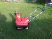 Honda HS35 Single Stage SnowBlower