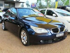 2004 BMW 525i E60 Orient Blue Sports Automatic Sedan Minchinbury Blacktown Area Preview