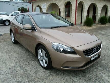 2013 Volvo V40 M MY14 D2 Kinetic Raw Copper 6 Speed Automatic Hatchback