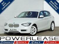 2011 61 BMW 1 SERIES 2.0 118D URBAN 5D AUTO 141 BHP DIESEL