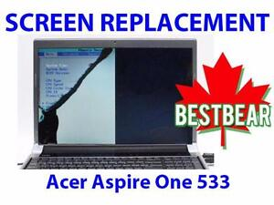 Screen Replacment for Acer Aspire One 533 Series Laptop